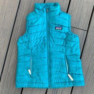 Patagonia Girls Down Vest XS
